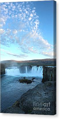 Iceland Godafoss Waterfall - 07 Canvas Print