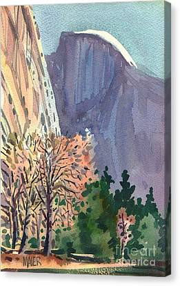 Icon Yosemite Canvas Print by Donald Maier