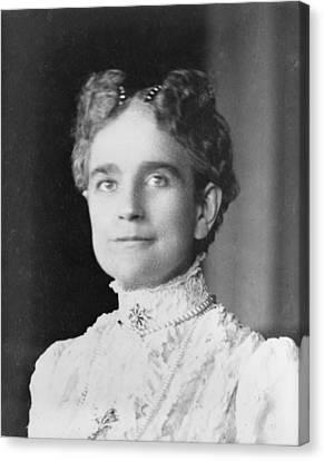 Ida Saxton Mckinley 1847-1907, First Canvas Print by Everett