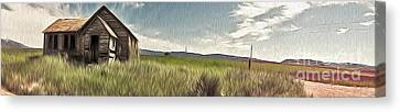 Idaho Panorama Canvas Print by Gregory Dyer