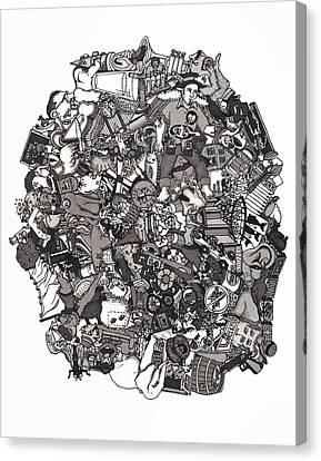 Idiomatic 160 Plus Canvas Print by Tyler Auman