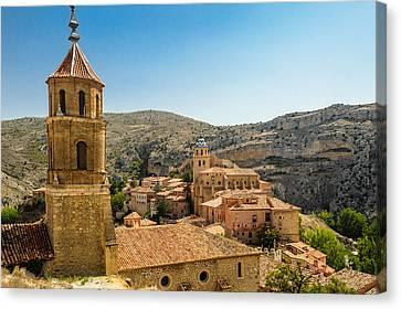 Iglesias Albarracín Canvas Print by Copyright Antoni Torres