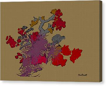 Canvas Print featuring the photograph Ikebana by Asok Mukhopadhyay