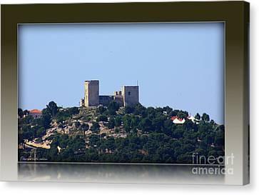 Il Castello Di San Michele Da Villanova Canvas Print