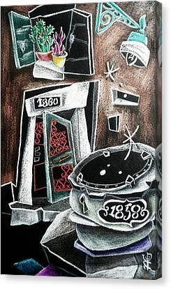 Il Mio Rifugio Canvas Print by Arte Venezia