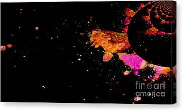 Illusion - A Planet Where Everyone Is From Kings And Queens Canvas Print by Fania Simon