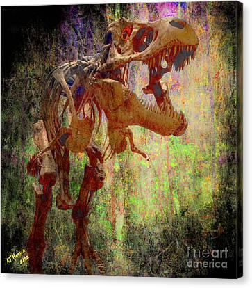 I'm Your Huckelberry Canvas Print by Arne Hansen