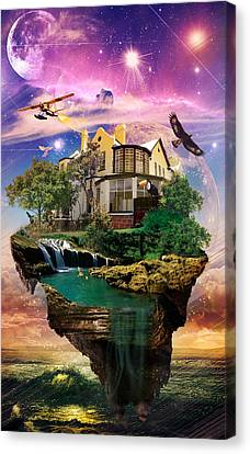 Imagination Home Canvas Print by Kenal Louis