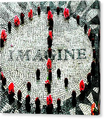 Imagine Peace Licensing Art Canvas Print by Anahi DeCanio