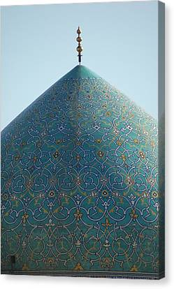 Imam Mosque In Esfahan, Iran Canvas Print by Kok Siew Huan