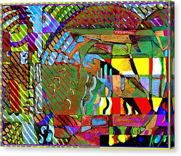 Improvisation Canvas Print by Mindy Newman