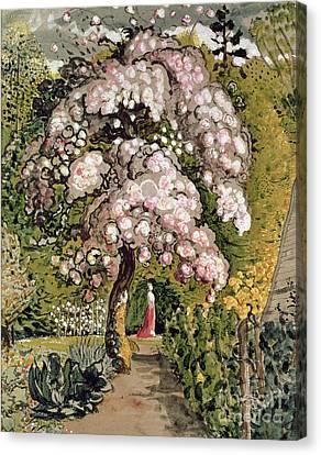 In A Shoreham Garden Canvas Print