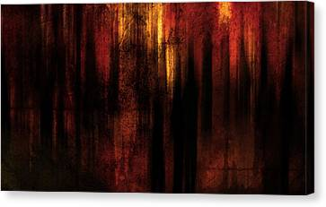 In Between Canvas Print by Terrie Taylor