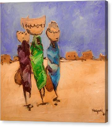 in Darfur 2 Canvas Print by Negoud Dahab