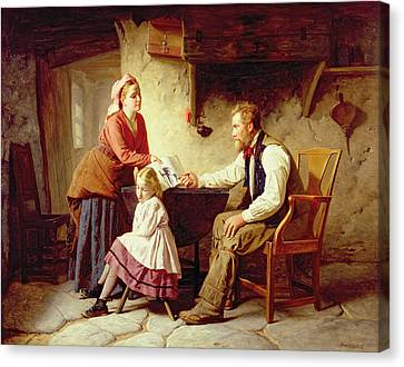 In Disgrace Canvas Print by William Henry Midwood