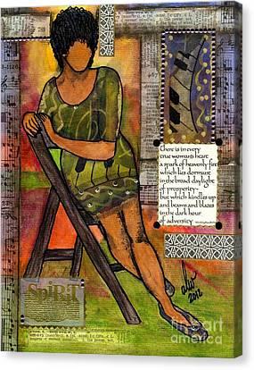 In Every True Woman Canvas Print by Angela L Walker
