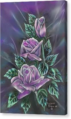 In Love Canvas Print by Richard Van Order and R Parks