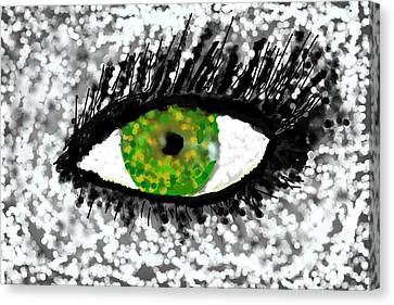 In My Eye..... Canvas Print by Tanya Tanski