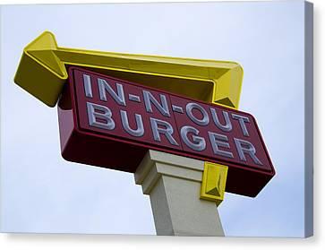 In-n-out IIi Canvas Print by Ricky Barnard