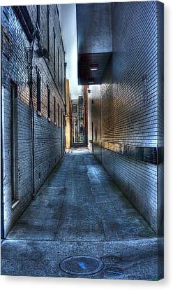In The Alley Canvas Print by Dan Stone