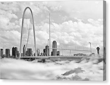 In The Clouds Canvas Print by David Clanton