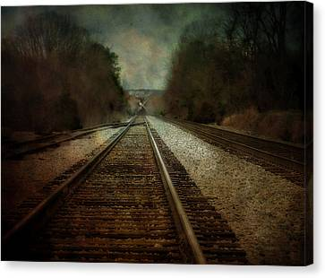 In The Distance Canvas Print by Kathy Jennings
