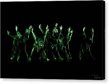 In The Green Light Canvas Print by Raffaella Lunelli