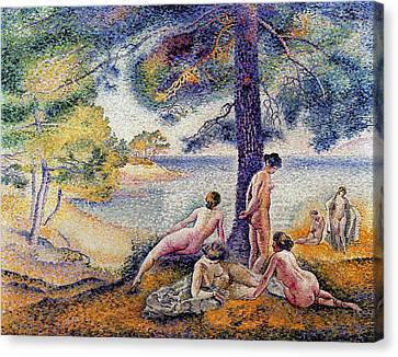 In The Shade Canvas Print by Henri-Edmond Cross
