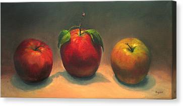 Canvas Print featuring the painting In The Spotlight by Vikki Bouffard