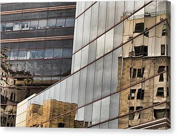 In The Windows Canvas Print by Juanita L Ruffner