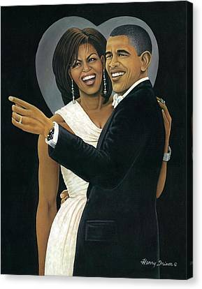 Inaugural Ball Canvas Print by Henry Frison