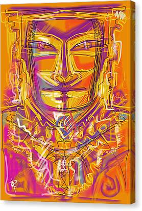 Inca King Canvas Print by Russell Pierce