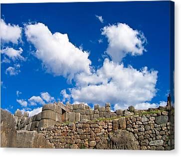 Inca Ruins Canvas Print by Nicolas Raymond