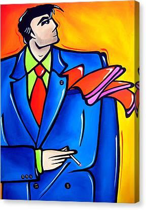 Incognito Original Pop Art Canvas Print by Tom Fedro - Fidostudio