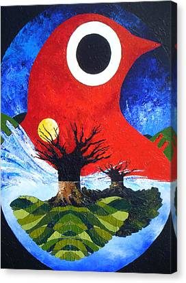 Incubation Canvas Print by Harold Bascom