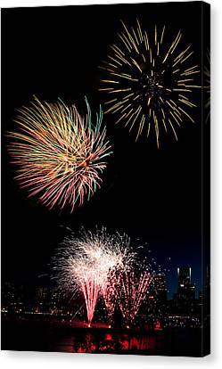 Independence Day D2502 Canvas Print by Wes and Dotty Weber