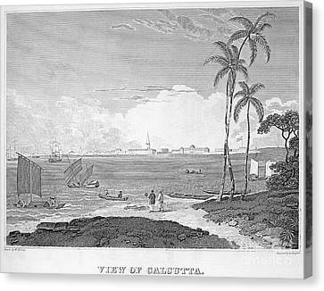 India: Calcutta, C1830 Canvas Print by Granger