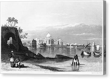 India: Taj Mahal, C1860 Canvas Print by Granger