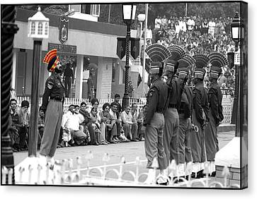 Indian Army Men Canvas Print