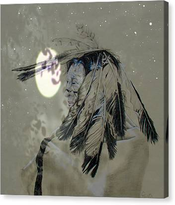 Indian Nights Canvas Print