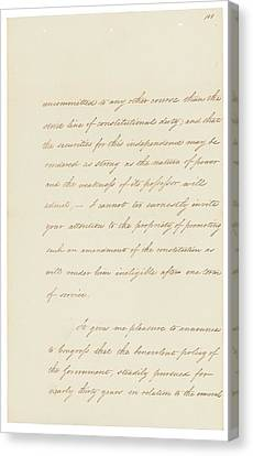 Indian Removal Act. Signed Into Law Canvas Print by Everett