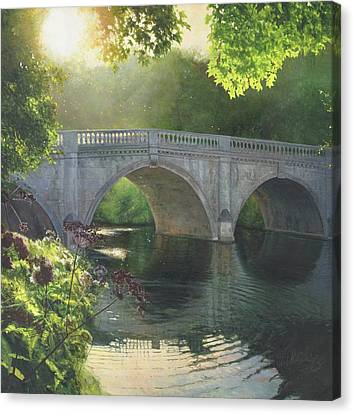 Indian Summer Canvas Print by Helen Parsley