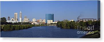 Indianapolis - D007990 Canvas Print by Daniel Dempster