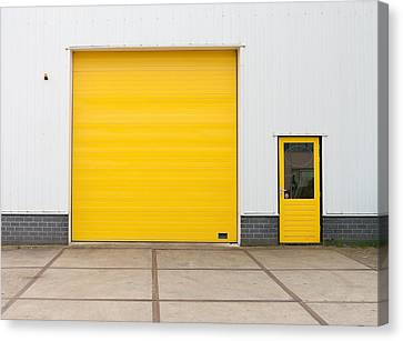 Industrial Warehouse Canvas Print by Hans Engbers