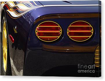 Indy Pace Car Canvas Print by Dennis Hedberg