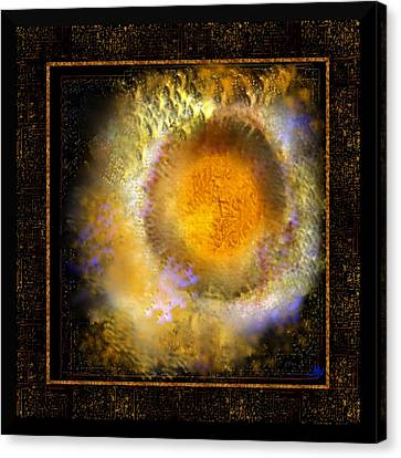 Ineffable Fire Canvas Print by Mathilde Vhargon