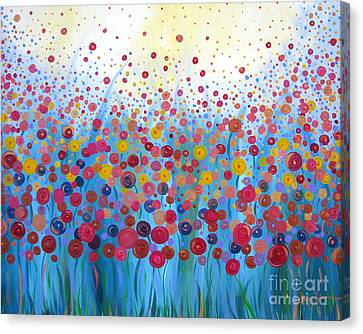 Infinite Romance Canvas Print by Stacey Zimmerman