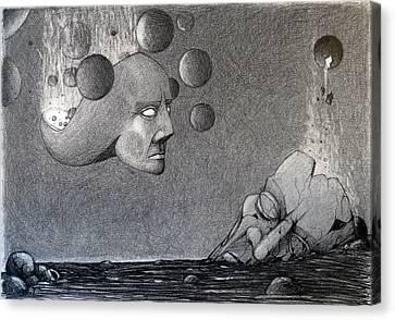 Infinity Of The Universe Canvas Print by Mariusz Zawadzki
