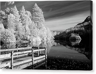 Infrared Glencoe Lochan Canvas Print by Billy Currie Photography