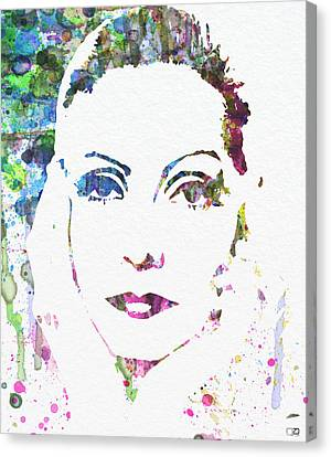 Ingrid Bergman  Canvas Print by Naxart Studio